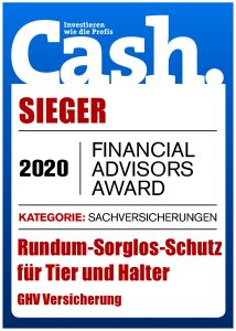 Cash. Financial Advisors Award